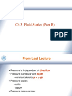 Ch3 Fluid statics( Part B)