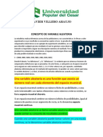 CONCEPTO DE VARIABLE ALEATORIA