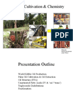 Palm Oil Cultivation and Chemistry