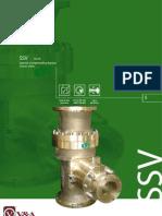 Schroeder SSV 70-79 Automatic recirculation valve