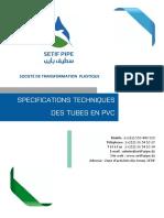 Specifications Techniques Pvc 2