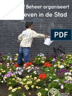 Landleven in de stad, Creatief Beheer folder