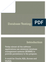 Database testing in QTP modified