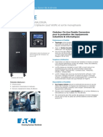 Fiche Produit Onduleur Eaton 9E 6-20 kVA