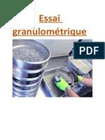 Essai granulométrique