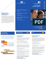 Flyer Sprachzertifikate