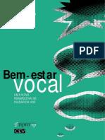 Bem estar vocal - Mara Behlau