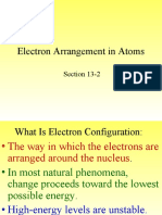 13-2 Electron Arrangement in Atoms 13-2 Chem 2009