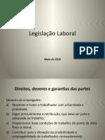 Legislação Laboral