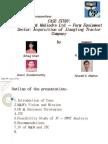 Mahindra and Mahindra Strategy