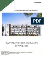 Rapport Journalier-Hotel Manzil 08-04-2021-2