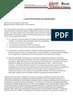 Informe 2 Formacion de emprendedores