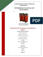 Informe Final 01 - Reactor Con Núcleo de Hierro