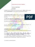 la fonction endocrine des tasticules et sa regulation