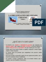 La organización del estado chileno_Unidad 1