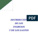 DISTRIBUCIÓN INGRESOS GASTOS 2011