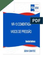 NR 13 - comentada
