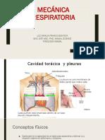 6  Mecanica respiratoria