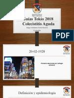 Guias Tokio Colecistitis 2018