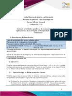Fase 4 - Aplicaciones de la integral en longitud de arco, áreas y volúmenes