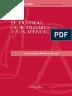 El Tratado de Actionibus y Sus Apendices
