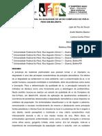 PERCEPÇÃO SENSORIAL DA QUALIDADE DO AR NO COMPLEXO DO VER-O-PESO EM BELÉM PA