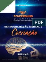 Resumo Reprogramação Mental e Cocriação