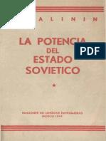 Kalinin, Potencia Del Estado Soviético