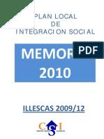 MEMORIA PLIS ILLESCAS 2010