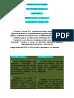 Cuadro Comparativo Decreto 1500 y El Decreto 2270