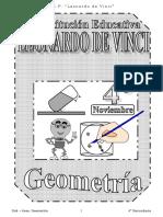 NOVIEMBRE - GEOMETRIA - 4TO