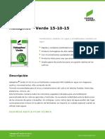 Hakaphos Verde 151015