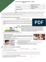 Ciencias - Sistema reproductor guía 6