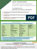 Konjunktionen Mit Umstellung, Enstellung Und Grundstellung A1-C1