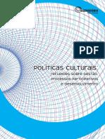 Políticas Culturais 2010_Reflexões Sobre Gestão, Proc. Participativo e Desenvolvimento