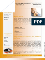 Baby Food Market and Organic Products Growth Analysis – The Americas, 2009-2015