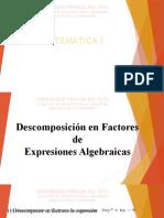 6° Clase -Factorización (1° - 2° - 3° - 4°)