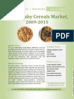 Global Baby Cereals Market, 2009-2015