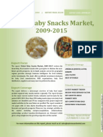 Global Baby Snacks Market, 2009-2015