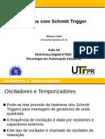 Aula 04A - Circuitos Com Schmitt Trigger