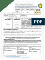 TALLER DIAGNOSTICO BIM I - CICLO V  - ONCE - BIOLOGÍA, SOCIALES Y POLÍTICA