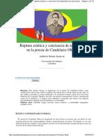 Ruptura Estética y Conciencia de Identidad en La Poesía de Candelario Obeso