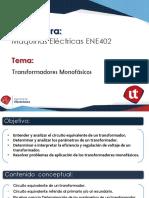 S2 Clase 2 Transformadores Monofásicos, CKTO Equivalente
