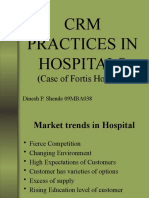 CRM PRACTICES IN HOSPITALS