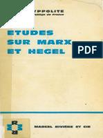 Études Sur Marx Et Hegel by Jean Hyppolite (Z-lib.org)