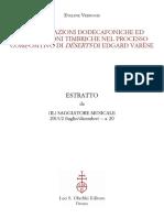 Trasformazioni Dodecafoniche Ed Elaboraz (1)