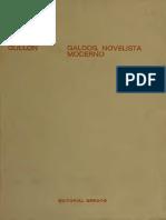 094 Gullon, Ricardo - Galdos, Novelista Moderno