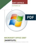 Microsoft Office 2007 SHORTCUTS