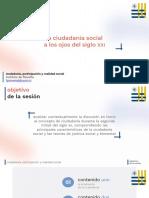 ciudadanía social