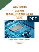 Sistemas microelectromecanicos (MEMS)